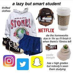 Classy Aesthetic, Aesthetic Fashion, Aesthetic Clothes, Cute Lazy Outfits, Cool Outfits, Teen Fashion Outfits, Outfits For Teens, Teen Trends, Aesthetic Memes