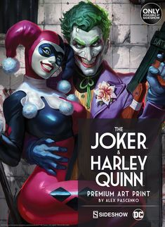 dc-comics-the-joker-and-harley-quinn-premium-art-print-500329-01.jpg (731×1000)