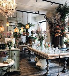 Bringing the garden back to Covent Garden with colourul autumnal displays in our lifestyle and homewares shop. Visit us this weekend to browse seasonal items from our Shop, flowers from our Florist and produce from our Delicatessen. Beautiful photo by Florist Shop Interior, Cafe Interior, Boutique Interior, Victorian Flowers, Modern Victorian, Flower Shop Interiors, Gift Shop Interiors, Flower Cafe, Flower Shop Design