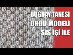 Fantazi Haroşa Örgü Modeli - Şiş İşi İle Örgü Modelleri - YouTube