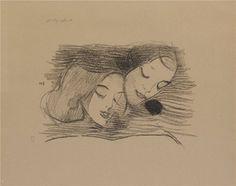 Helene Schjerfbeck, Kuvakirja (the Picture Book) Helene Schjerfbeck, Bukowski, Pencil Drawings, Graphic Art, Illustration Art, Monochrome, Auction, Portrait, Doodles