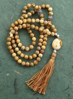 99 Picture jasper Sufi Islamic prayer beads by BariBazaar on Etsy, £27.00