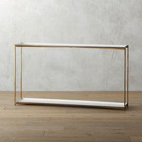 CB2 - July Catalog 2016 - Cleo Console Table