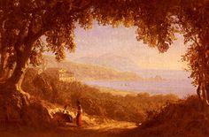 Sanford Robinson Gifford (1823-1880) La Riviera Di Ponente, Genoa