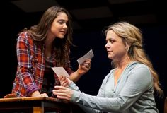 "Andrea Ross and Kendra Kassebaum as Natalie and Diana in ""Next To Normal"" at Arizona Theatre Company."