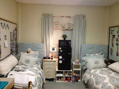 North Russell dorm room, 2013 // #Baylor University