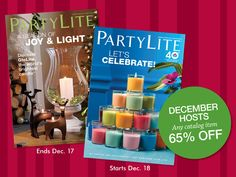 Shop, save and party!