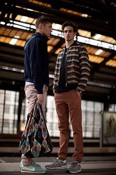 Berlin Fashion: Berlin Fashion: models posing in Berlin
