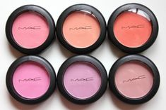 mac blush. as much as i'm all about buying cheap makeup as opposed to spending too much money just for the name, i haven't seemed to be able to find a really good blush other then MAC. so, until i find a really good dupe, i'm spending a shit ton of money on blush!