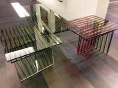 Con Valjet un semplice tavolino di vetro può diventare un oggetto di design unico.