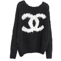 Chanel oversized sweater. I'd love to have for the winter so comfy