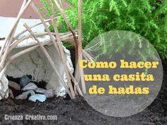 Como hacer una casita de hadas