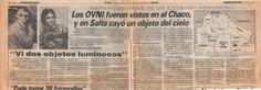 ovnis en chaco 1985