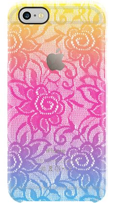 Neon Lace by Uncommon for iPhone 6 Clear Deflector