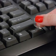 Click here to purchase the ClearKey®! It protects against bacteria, mold and fungus accumulating on the keyboard, along with reducing the clicking from your fingernails. Available for laptop and PC via inventhelpstore.com