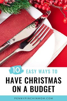 During the holidays, it's easy to remember to create a budget for the gifts, but what about the Christmas food? Determine how much you can afford to spend on special holiday season meals, then stick to your budget as you make your Christmas menu. Christmas On A Budget, All Things Christmas, Dinner On A Budget, Create A Budget, Frugal, Saving Money, Budgeting, Dinner Recipes, Menu