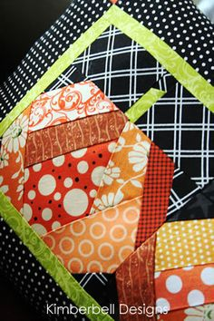 The-Pumpkin-Patch-Throw-Quilt-and-Pillow-Set, could also use for wall hanging. I need to satisfy my fall quilt craving!