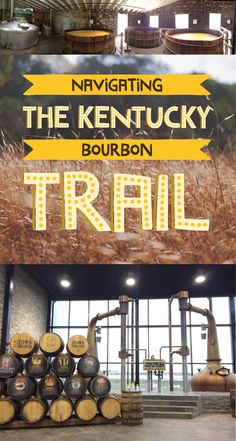 Map of kentucky bourbon trail bourbon trail brews and for Ky bourbon trail craft tour map