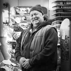 """Rusty House Owner, Cold Water Surf and Skate  •  Astoria, OR  My wife and I have lived here 11 years; we moved here in 2005 from St. Louis. I was changing jobs. My wife wasn't terribly interested in the Portland area. She asked, """"Hey, can we live on the coast?"""" I said, """"Sure."""" We looked from Newport to Astoria, and we liked here best. It's the combination of a blue-collar town and a place to work and live. We made that choice and never regretted it."""