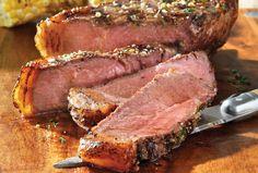 Striploin steak recipes easy