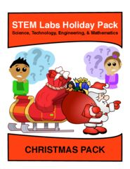 10 Projects STEM Pack for Winter and Christmas! Enter for your chance to win 1 of 10. STEM Labs Pack - Christmas Winter Projects Pack of 10 Holiday-Themed Projects  (13 pages) from MediaStream Press - Andrew Frinkle on TeachersNotebook.com (Ends on on 12-24-2016) Get this NEW STEM pack of winter holiday projects for free! 10 Winners on Christmas!.