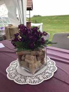 Center Pieces for Wine Tasting Themed Bridal Shower - Runder Geburtstag - Bride Winery Bridal Showers, Bridal Shower Gifts For Bride, Bridal Shower Wine, Bridal Shower Centerpieces, Brunch Decor, Bridal Shower Invitations, Center Pieces, Wine Tasting, 80th Birthday