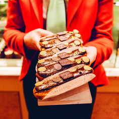 #Chocolate #ChocolateEclairs #Eclairs #Patisserie #Sweet #SweetTreat #Indulgence #RedCoat #RedTails #FoodHall #Piccadilly #Fortnums #FortnumAndMason