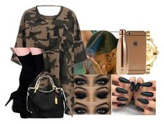 """""""Untitled #2304"""" by kayla77johnson ❤ liked on Polyvore featuring Movado, CO, Michael Kors and S'well"""