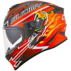 Κράνος Suomy Stellar Boost Orange Suomy Helmets, Motorcycle Accessories, Orange