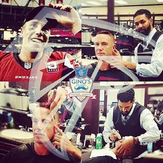 Congratulations to our very own #atlantafalcons. #nfcchampionship #superbowl #houston #mattvp #victorymonday #bestbarber #atlanta #barberlife #fade