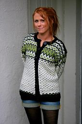 Lilliankofta (Lilliansweater) pattern by Lillian Thorsen Cardigans, Sweaters, Polka Dot Top, Pattern, Design, Women, Fashion, Moda, Fashion Styles
