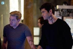 "#Shadowhunters 3x01 ""On Infernal Ground"" - Jace and Alec"