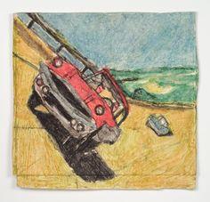 James Castle, 'Untitled (Cars on sloped track)', Fleisher/Ollman   Artsy