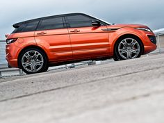 Project Kahn Range Rover Evoque than give up      Kahn design team gathers the attention of all automobile lovers, the sport version of the Range Rover Evoque model will be very loved in the four-door model, a new study presented the car lovers.     Design  Looking at the design of this project is Evoque'un Range Rover is positioned next to the LED lighting draws attention to the fog lamps.