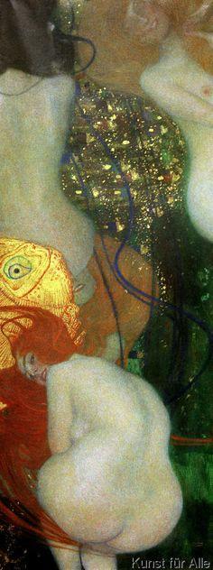 Gustav Klimt - Goldfische