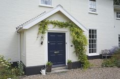 Beautiful, modern & traditional timber front doors - timber entrance doors, all made to measure using engineered timber & top performance double glazing. Timber Front Door, Composite Front Door, Timber Windows, Front Door Entrance, Front Porch, Best Exterior Paint, House Paint Exterior, Double Glazed Sash Windows, Traditional Front Doors
