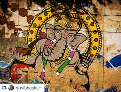 #Repost @savibhushan with @repostapp Get featured by tagging your post with #talestreet May Lord Ganesha guide our minds with wisdom fill our hearts with love and bless us with abundance and happiness! Wishing you a Happy Diwali! #streetart #indiaclicks #lonelyplanetindia #festival #diwali2015 #diwali #photography #nofilters #talestreet #world_photography_club #worldphotographyart #natgeo #nikontop #graffiti #ganesha #streetshot #streetstyle #streetsofindia #saddidilli #delhi #photowalk…