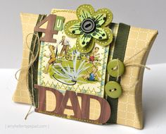 Father's Day pillow box Amy Heller