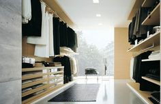 Fancy - Ubik Walk-In Closet by Poliform