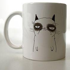 Grumpy Cat Nope Face Mug Two Side 11 Oz Ceramic Mug http://www.amazon.com/dp/B00VFIUO9S/ref=cm_sw_r_pi_dp_5lFjvb1W9M1NC