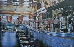 Ralph's Diner - Ralph Goings (Super Realism)