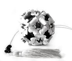 Кусудамы и многогранники - Черно-белое!