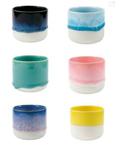 HAND-CAST AND GLAZED PROCELAIN CUPS | THE STYLE FILES