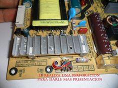 73. Reemplazo de oscilador fuente tv Led   Taller de Electrónica Sony Led Tv, Electronic Schematics, Tv Services, Electronic Circuit, Fonts, Atelier