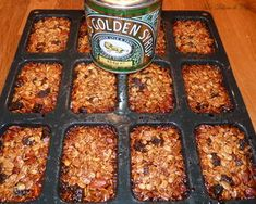 Barres_de_c_r_ales_amandes_et_raisins Biscuits, Food And Drink, Sweets, Homemade, Matins, Cooking, Breakfast, Healthy, Recipes