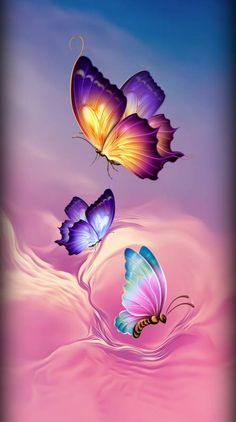 Butterflies wallpaper by Sixty_Days - 16 - Free on ZEDGE™ Butterfly Wallpaper Iphone, Heart Wallpaper, Scenery Wallpaper, Cute Wallpaper Backgrounds, Cellphone Wallpaper, Colorful Wallpaper, Flower Wallpaper, Screen Wallpaper, Trendy Wallpaper