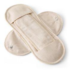 メイド・イン・アース/布ナプキン 昼用 1890yen 肌にやさしい、オーガニックコットンの布ナプキン
