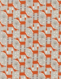771aeaa0587 This listing is for 1 yard of Fox fabric by Timeless Treasures. Please  inquire for a listing with more yardage!