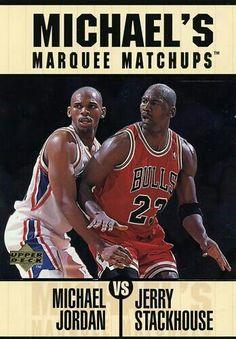 Michael Jordan vs Jerry Stackhouse