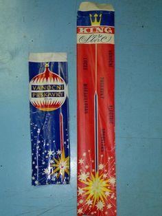 prskavky - sparklers